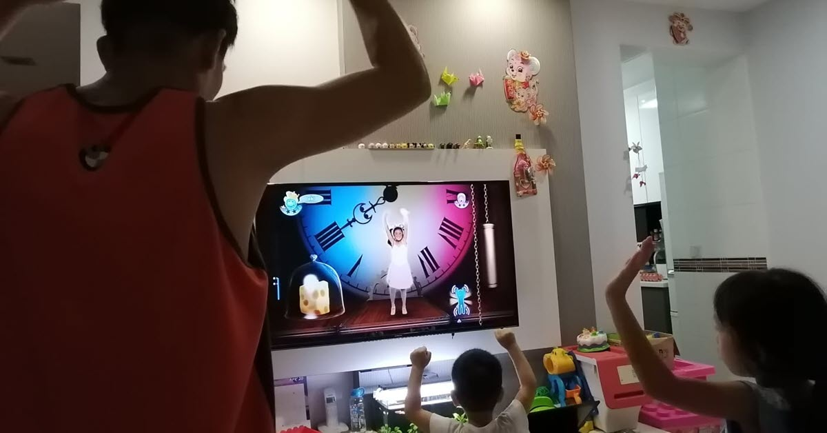 Family Danced with Joy with Revived Wii and New Games Reloaded
