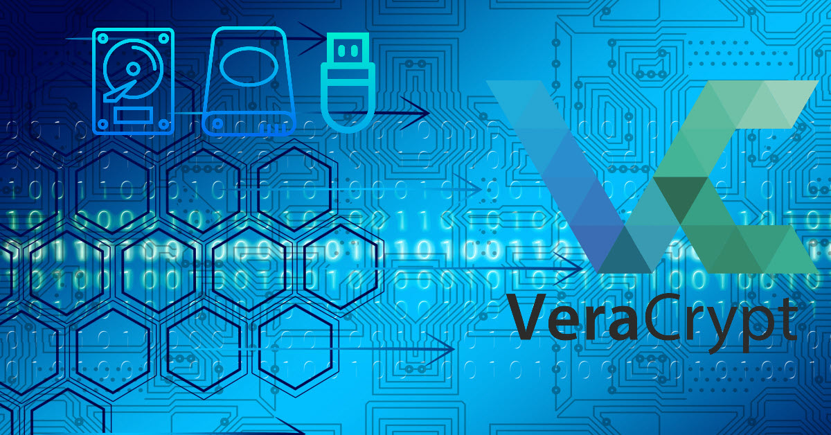 VeraCrypt Drive Encryption to Protect Data