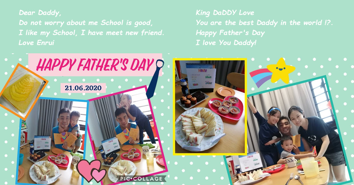 Father's Day 2020 with My Family