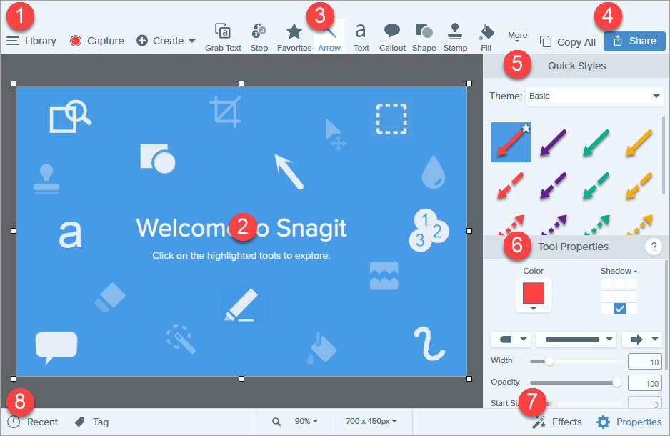 Snagit – Best Screen/Video Capture and Image Editor Software